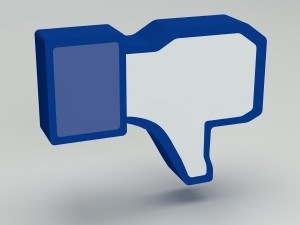 Dislike on Facebook